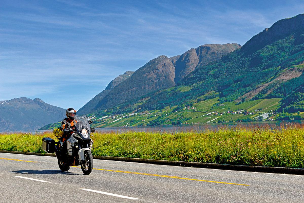 Motorrad in Norwegen