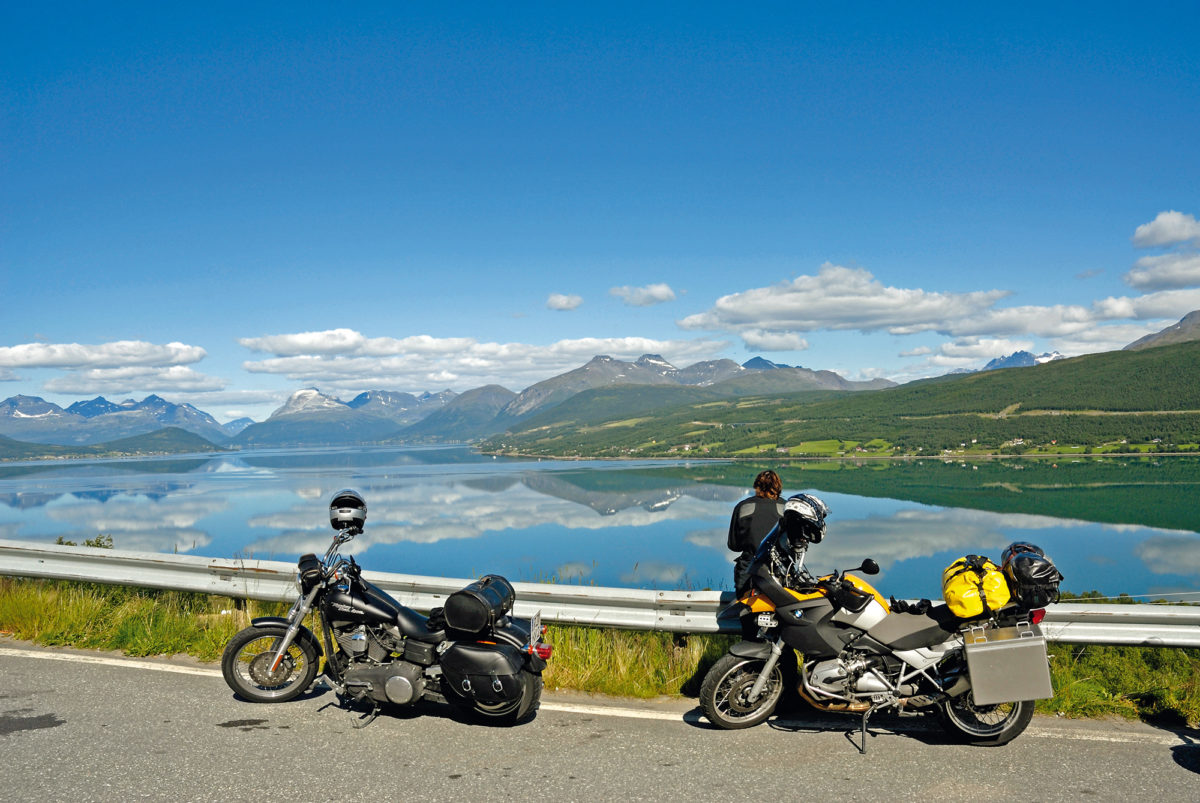 Motorradtour zum Nordkap