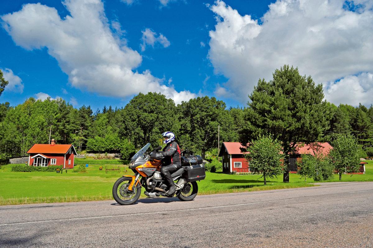 Motorradreise durch Schweden