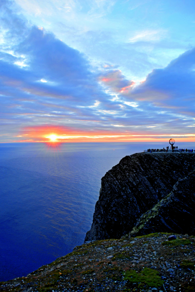 Abendlicht am Nordkap