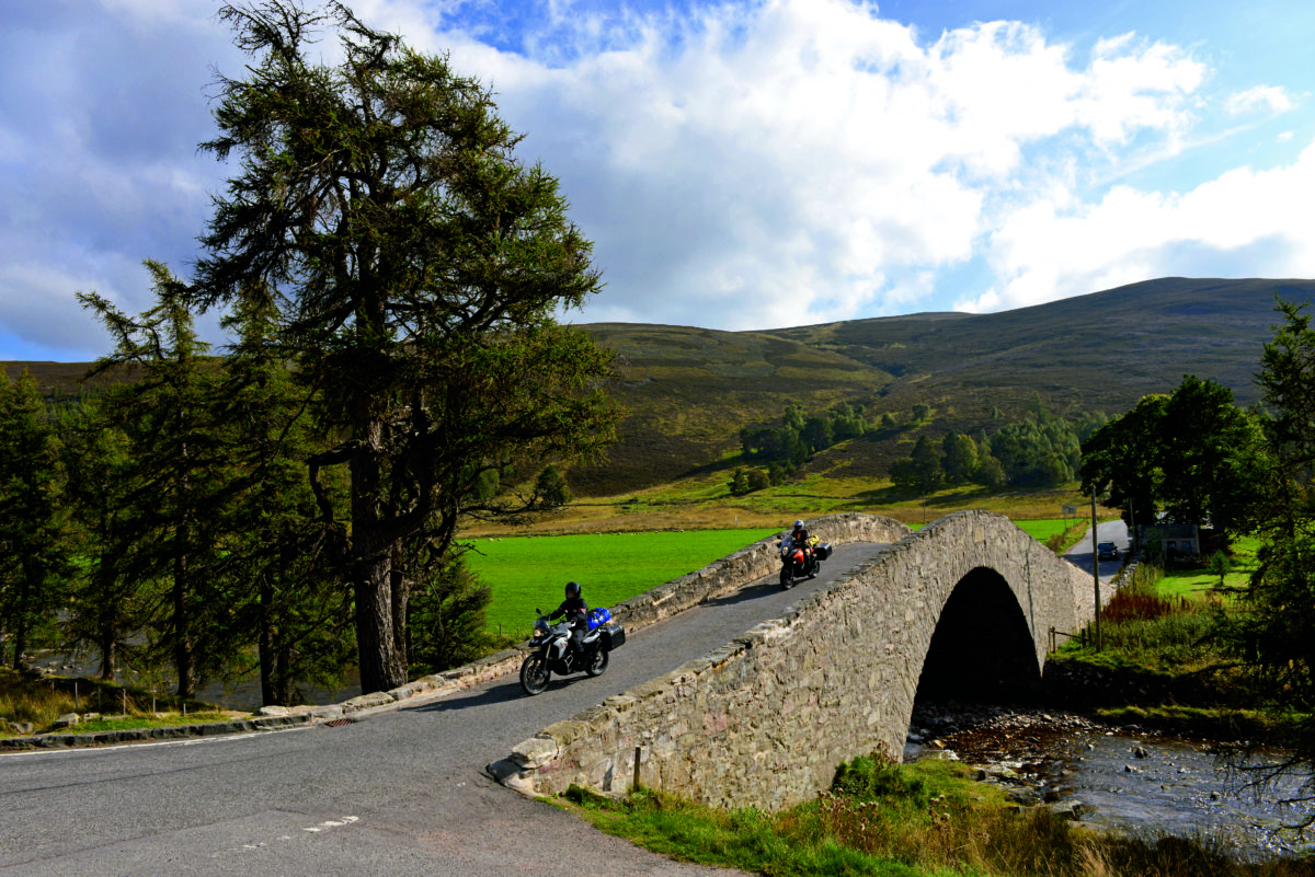 Motorradreise durch Schottland